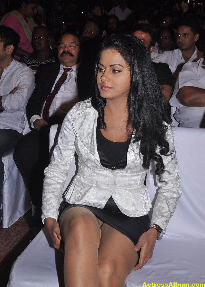 Rachana Maurya Hot Photos In White Dress 1