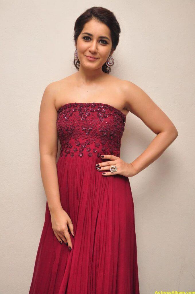 Rashi Khanna Stills At Movie Success Meet 1