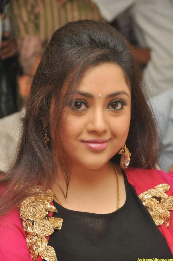 Actress Meena Photos In Black Dress 1