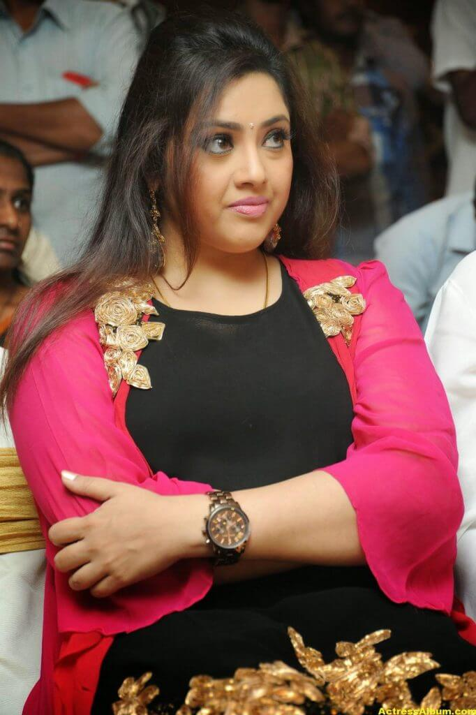 Actress Meena Photos In Black Dress 2