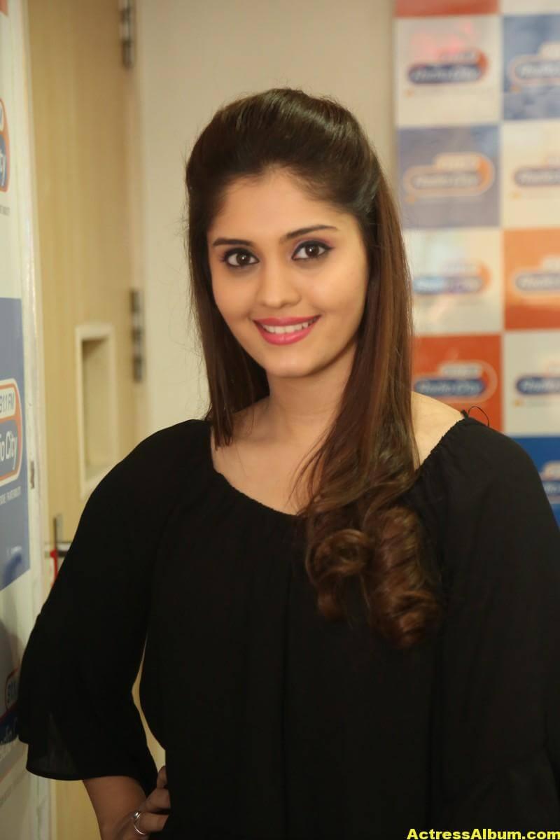 Actress Surabhi Latest Photos In Black Dress 1