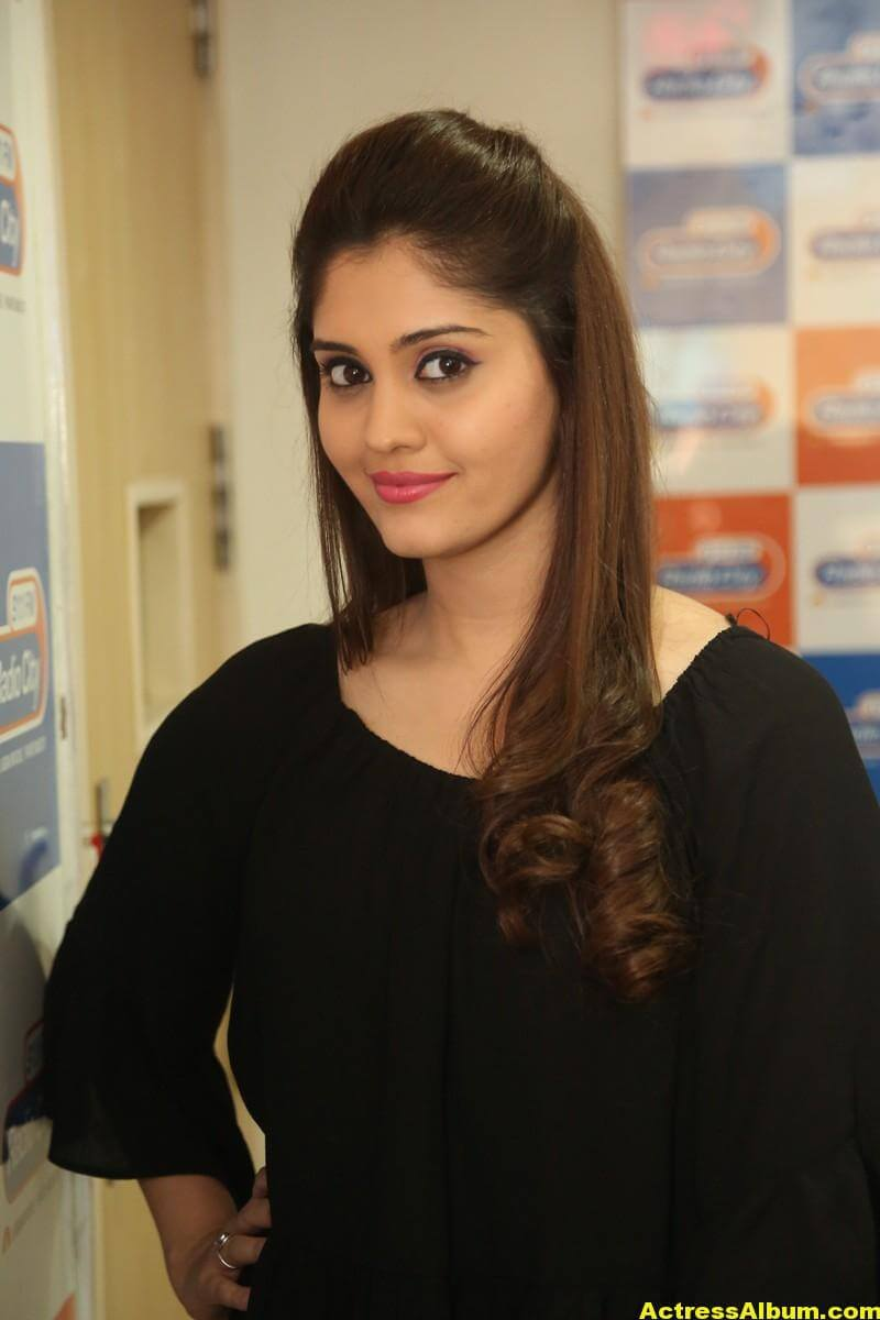 Actress Surabhi Latest Photos In Black Dress 2