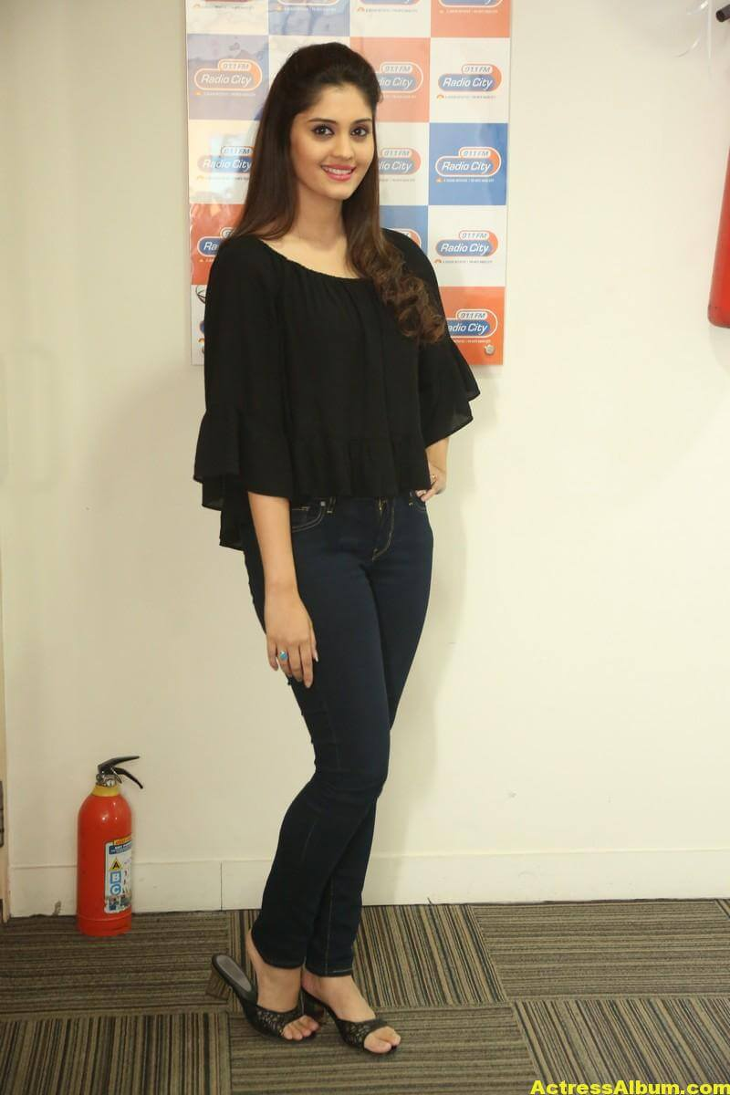 Actress Surabhi Latest Photos In Black Dress 3