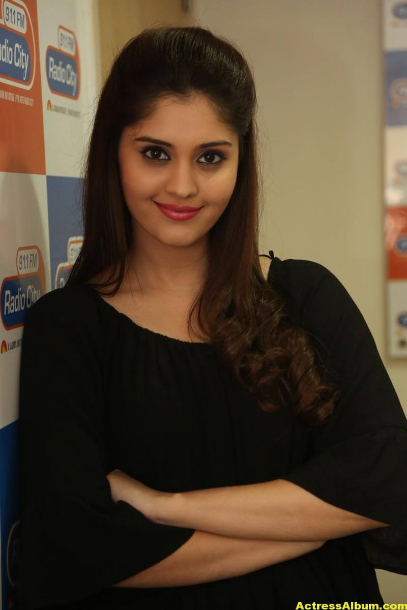Actress Surabhi Latest Photos In Black Dress 4
