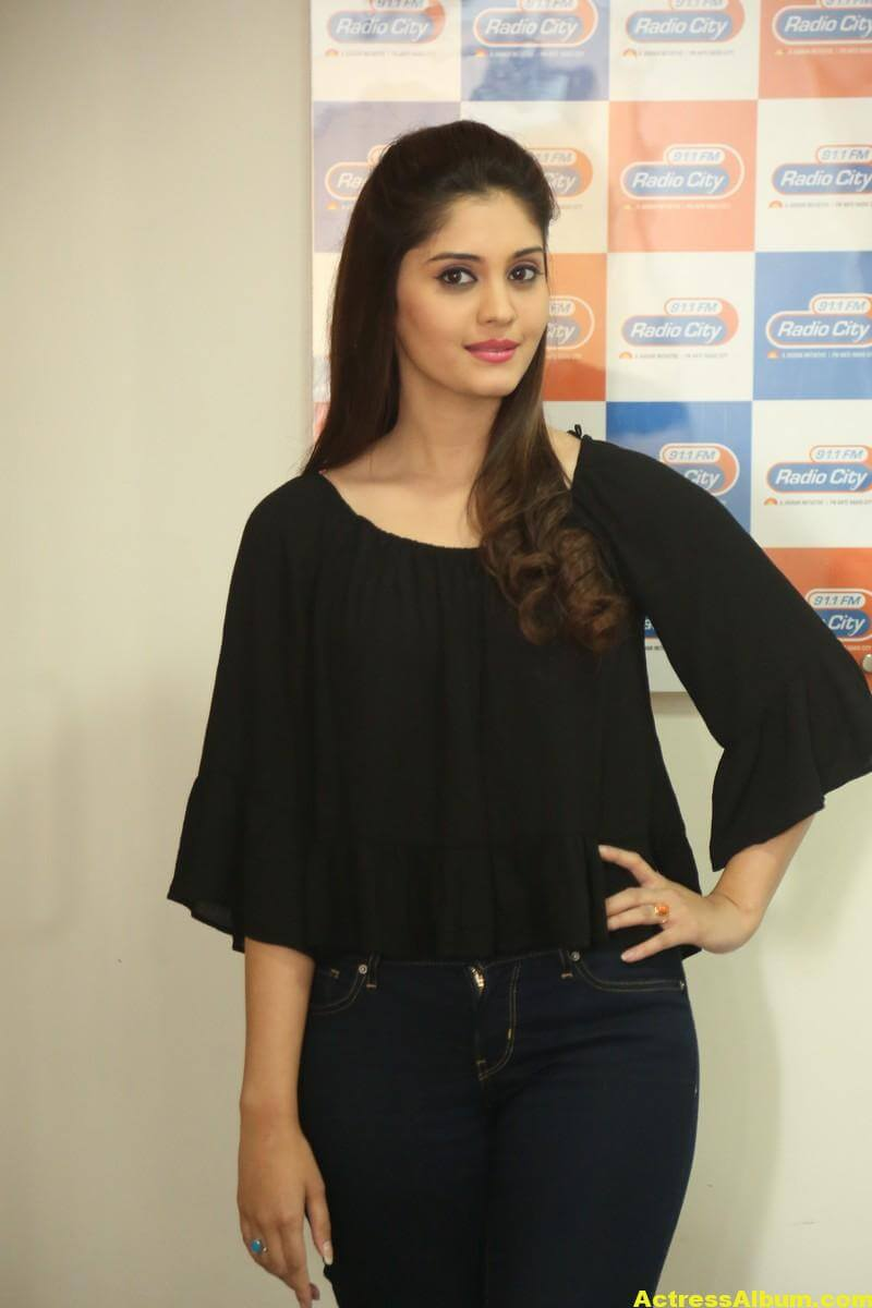 Actress Surabhi Latest Photos In Black Dress 5