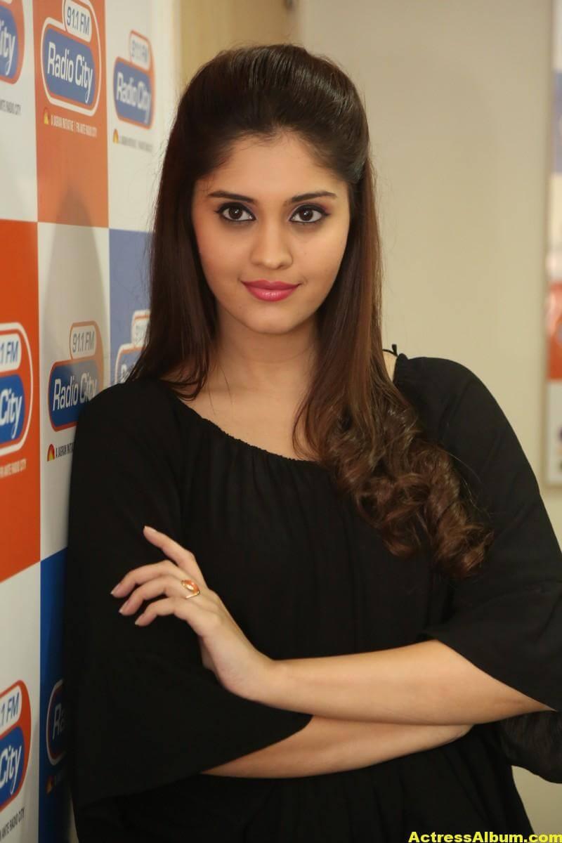 Actress Surabhi Latest Photos In Black Dress 6