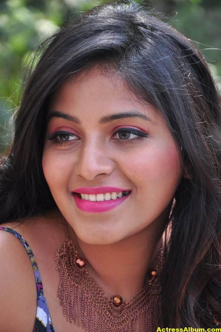 Anjali Latest Hot Stills In Blue Dress 1