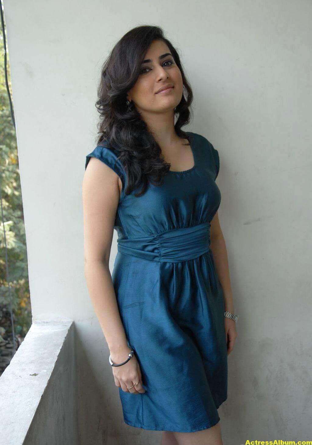 Archana Photo Shoot Stills In Blue Dress 2