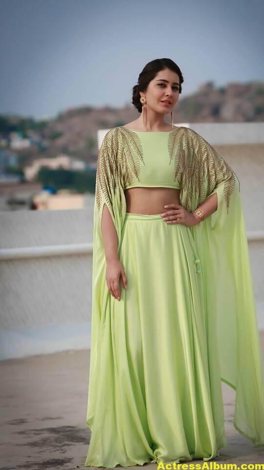 Rashi Khanna In Green Dress