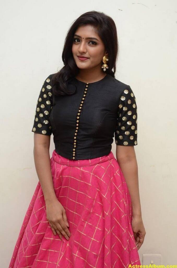 Eesha Rebba Glamorous Stills In Black Dress