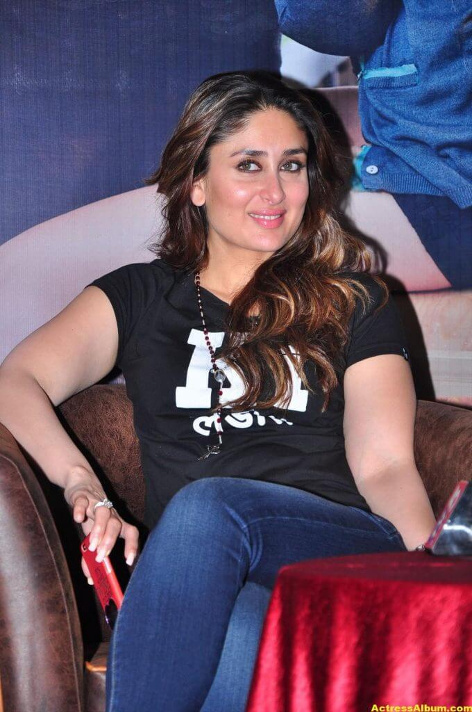 Heroine Kareena Kapoor Hot Photos In Black Dress 1
