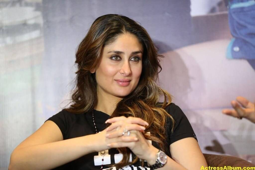 Heroine Kareena Kapoor Hot Photos In Black Dress 3