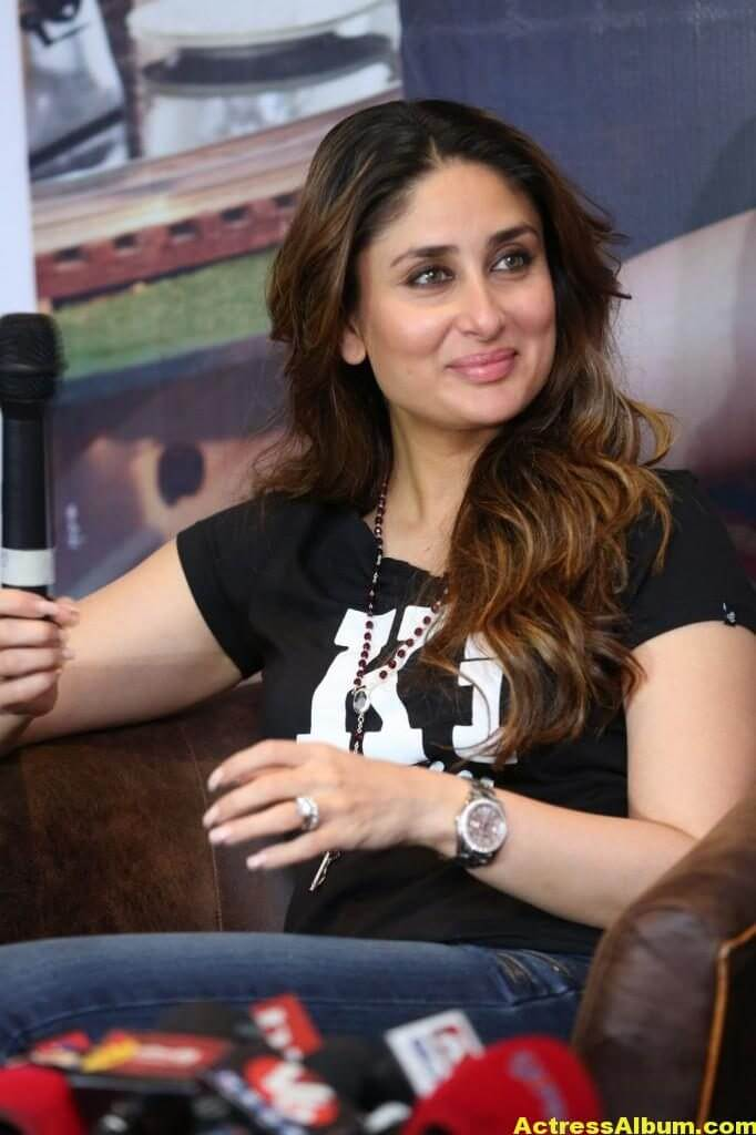 Heroine Kareena Kapoor Hot Photos In Black Dress 4