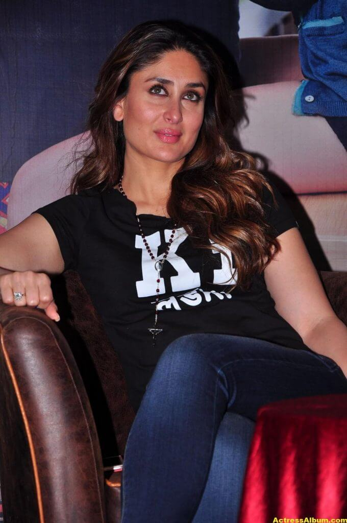 Heroine Kareena Kapoor Hot Photos In Black Dress 5