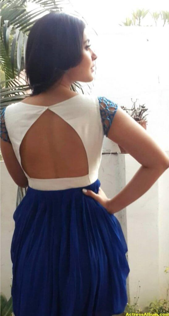 Hot Photoshoot Of Rashi Khanna In Blue Dress 3