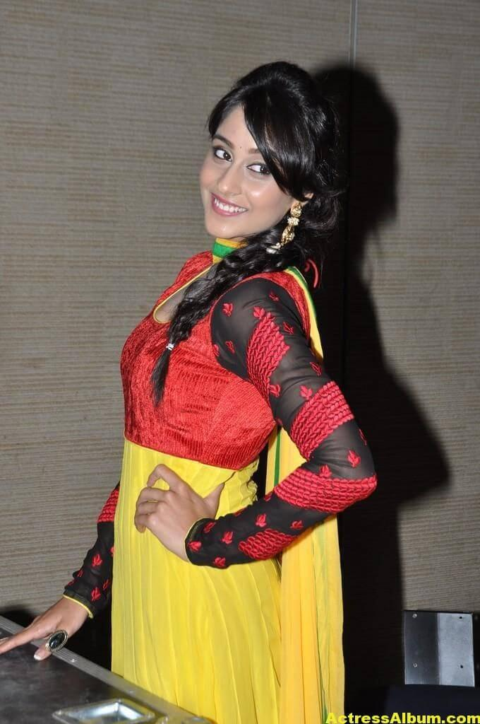 Hot Regina Cassandra Photos In Yellow Dress 2