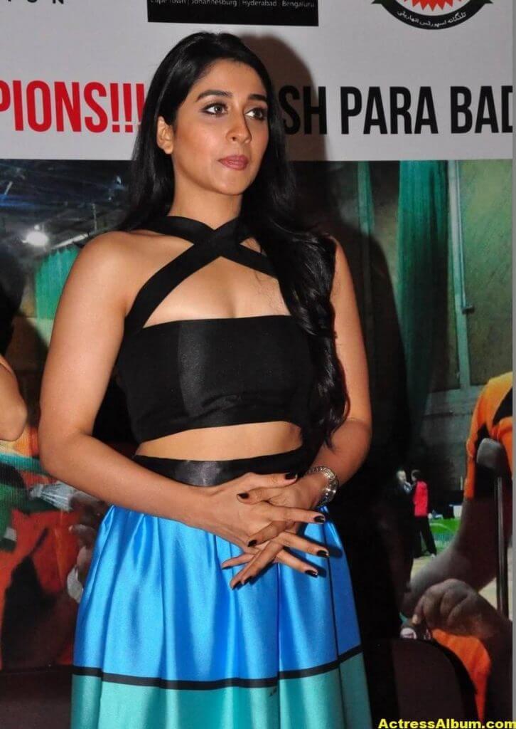 Hot Regina Stills In Black Dress At Para Badminton 3