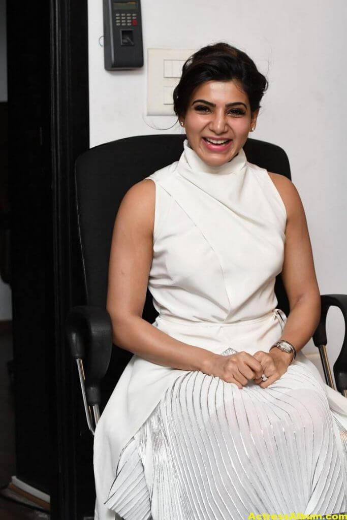 Hot Samantha Pics In White Dress 2