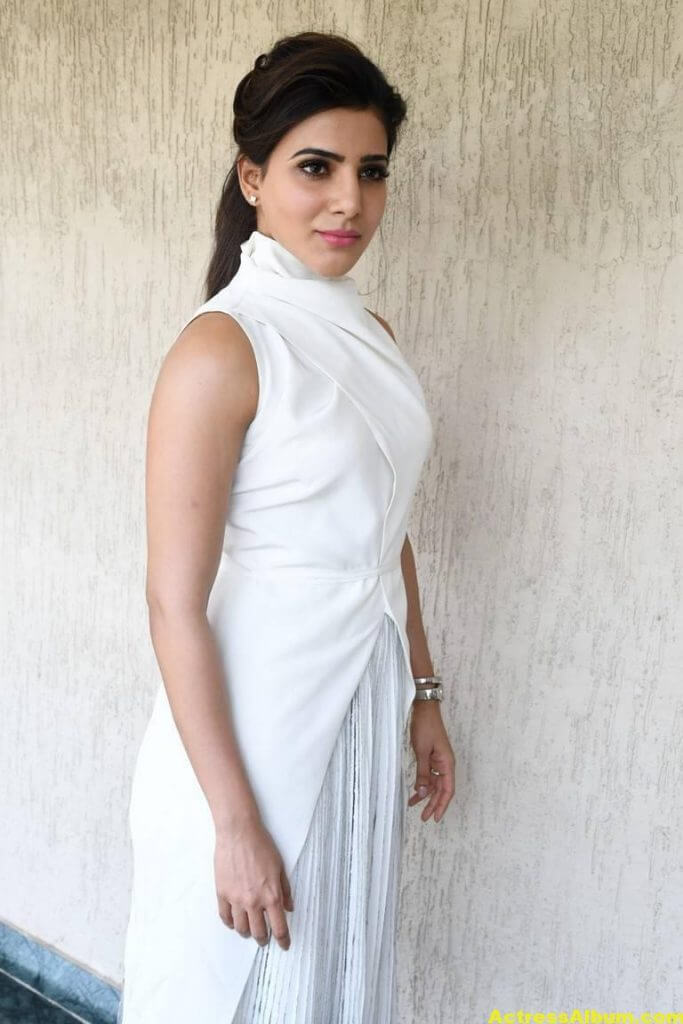 Hot Samantha Pics In White Dress 3