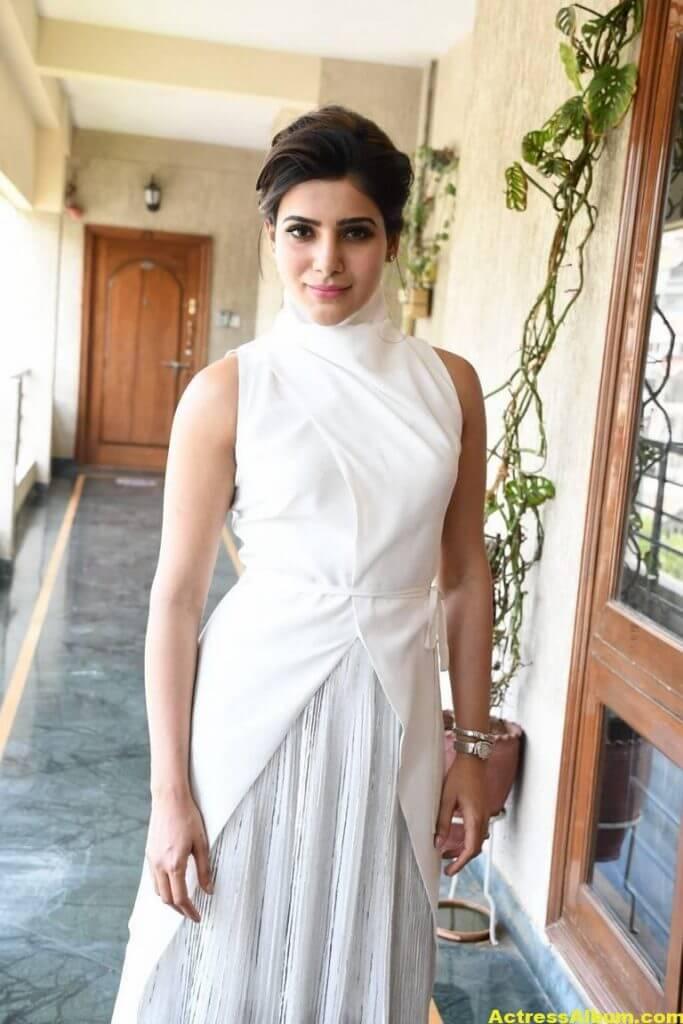 Hot Samantha Pics In White Dress 4
