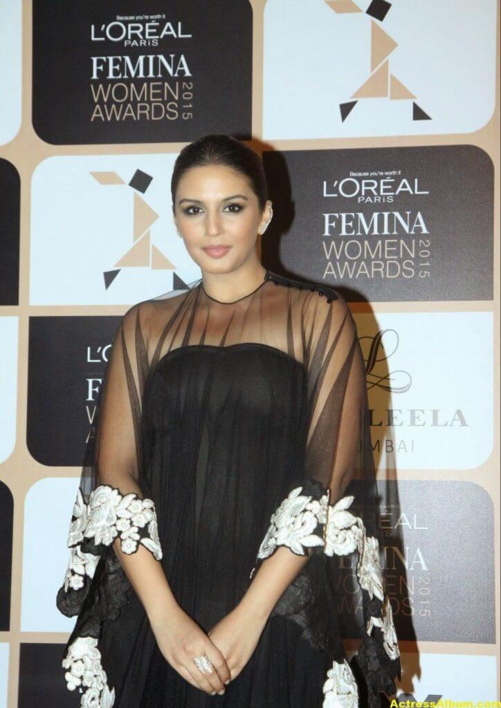 Huma Qureshi Photoshoot Photos In Black Dress