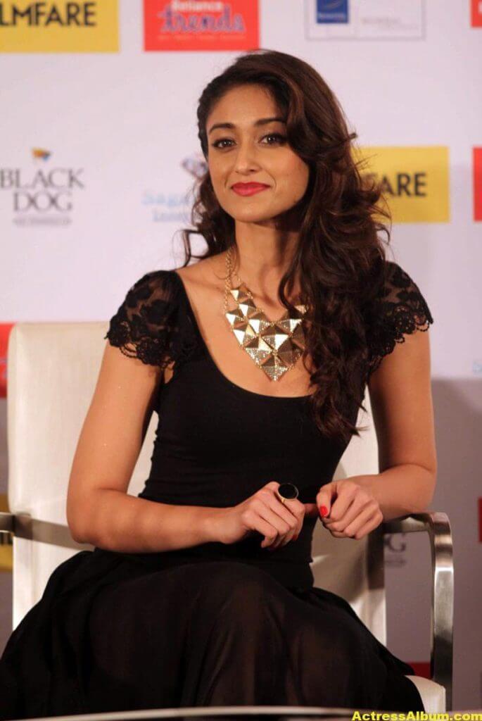 Ileana Hot Photos In Black Dress At Filmfare Launch