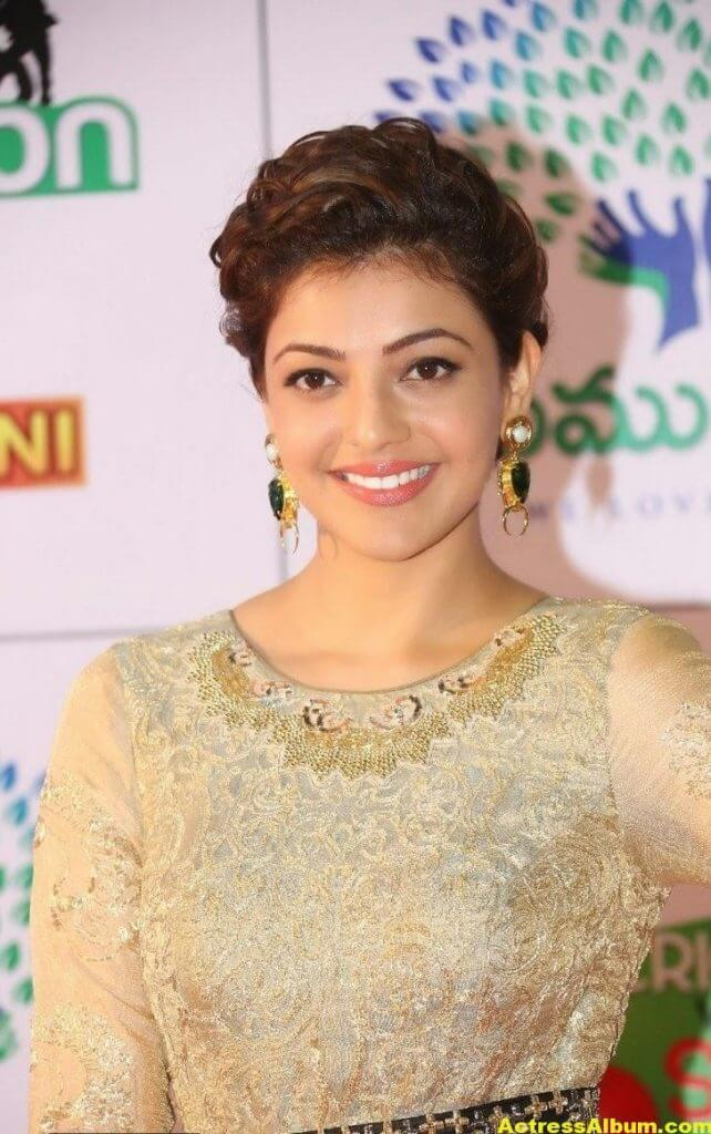 Kajal Agarwal Gorgeous Photos At Memu Saitam1