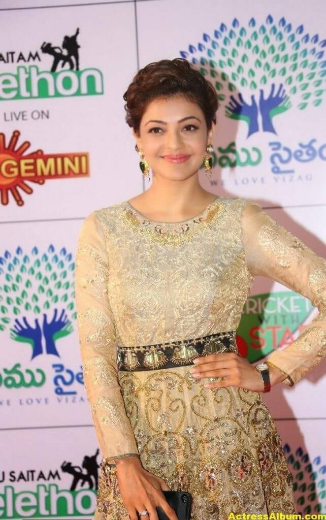 Kajal Agarwal Gorgeous Photos At Memu Saitam3