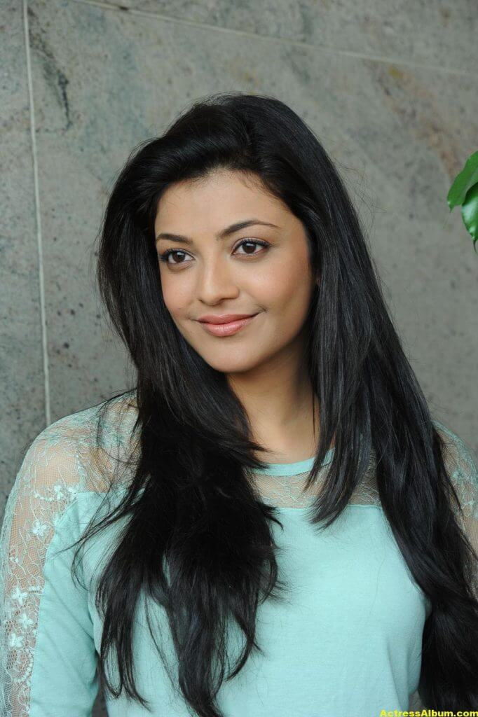 Kajal Agarwal Latest Photos In Blue Dress Jeans 7