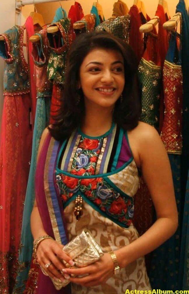 Kajal Agarwal latest Stills In Designer Dress 1