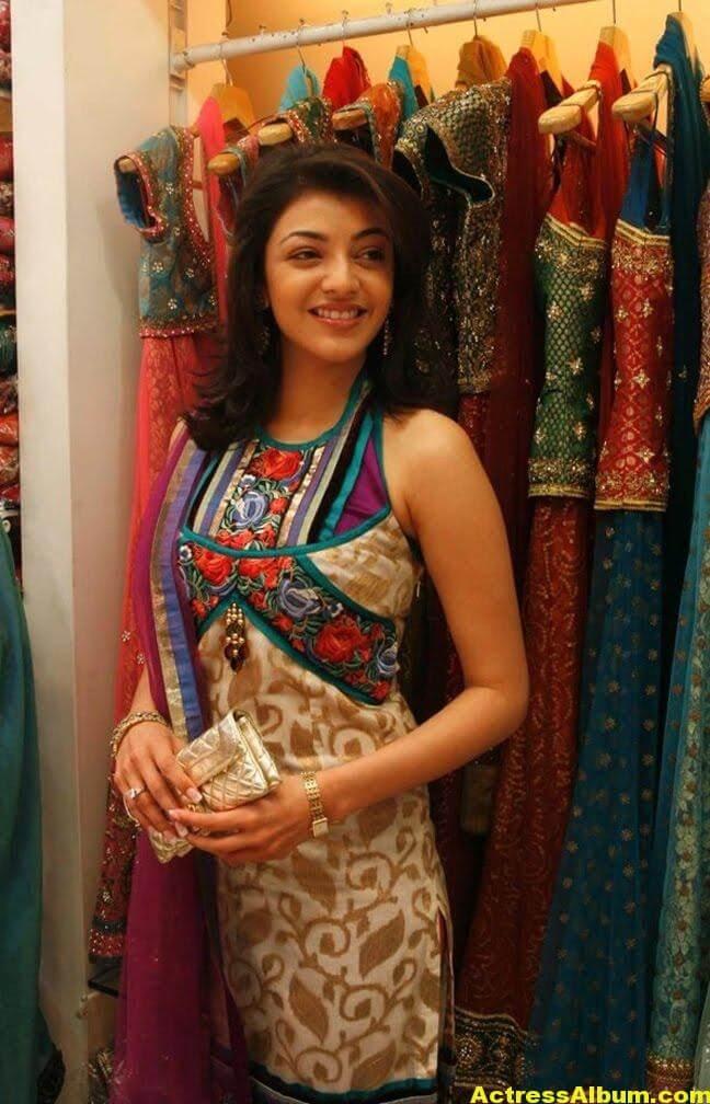Kajal Agarwal latest Stills In Designer Dress 3