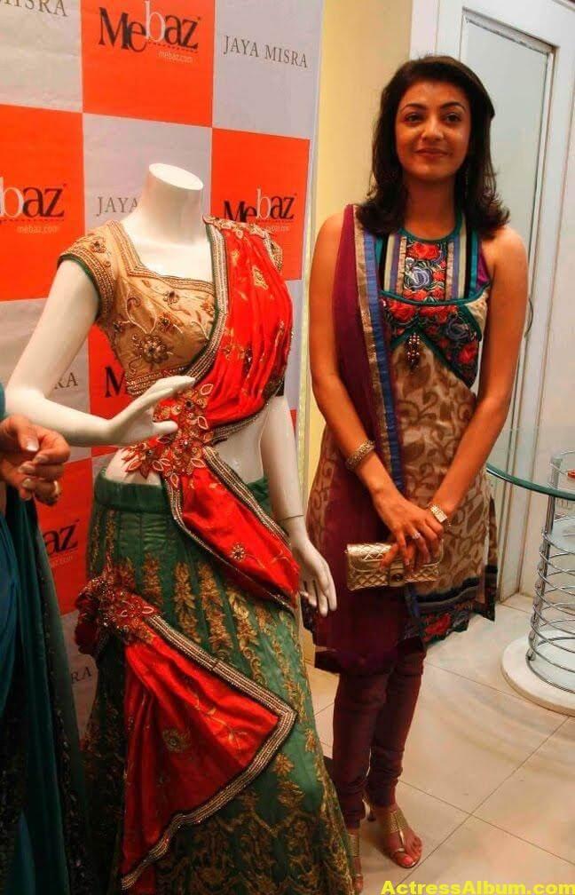 Kajal Agarwal latest Stills In Designer Dress 4