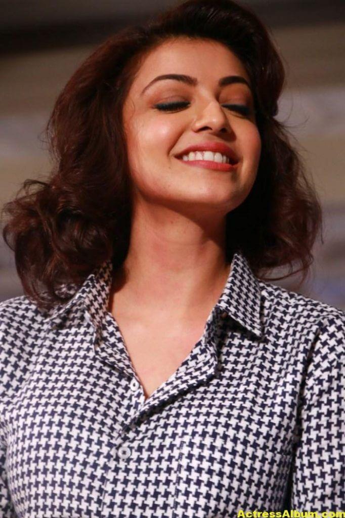 Actress Kajal Agarwal @ Anams Man & Barakah Spring Summer 2016 Collection Photos