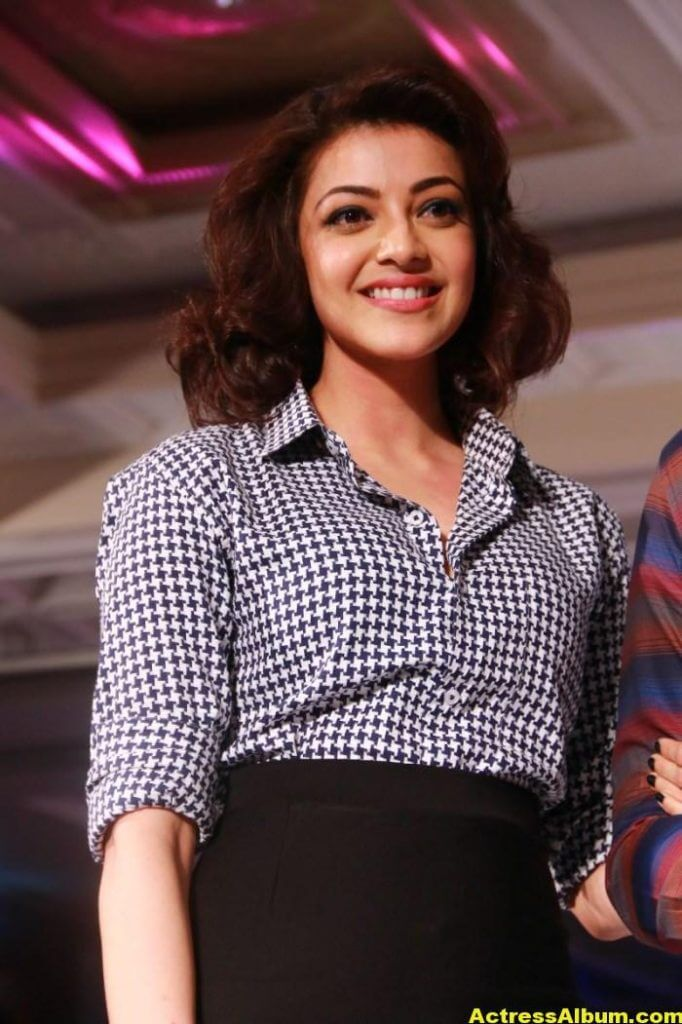Kajal Aggarwal Photos At ITC Fashion Show 4