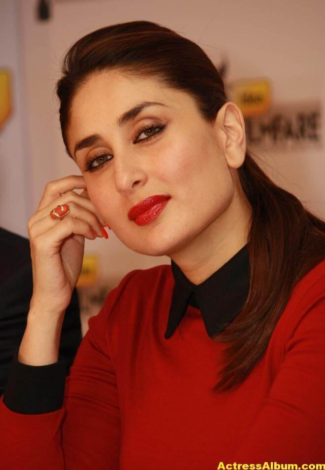 Kareena Kapoor Beautiful Pics In Red Dress 1