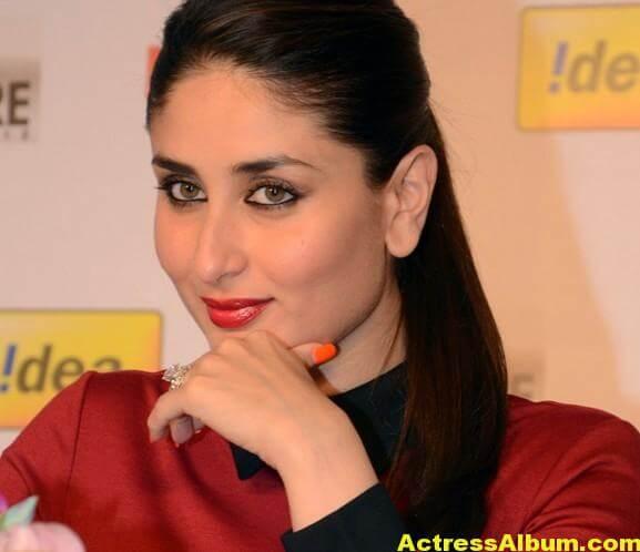 Kareena Kapoor Beautiful Pics In Red Dress 3