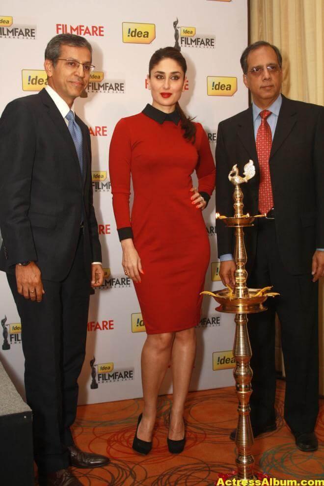 Kareena Kapoor At Filmfare Launch