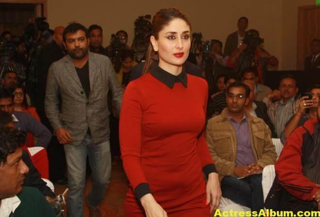 Kareena Kapoor Beautiful Pics In Red Dress 6