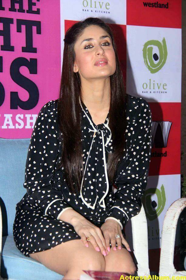 Kareena Kapoor Cute PhotoShoot In Black Dress 1