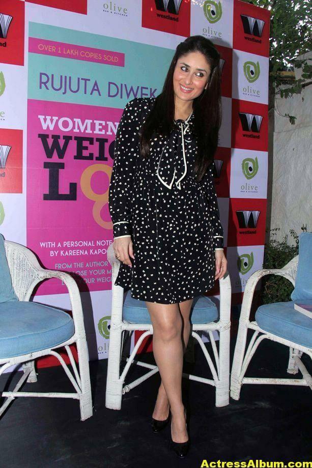 Kareena Kapoor Cute PhotoShoot In Black Dress 3