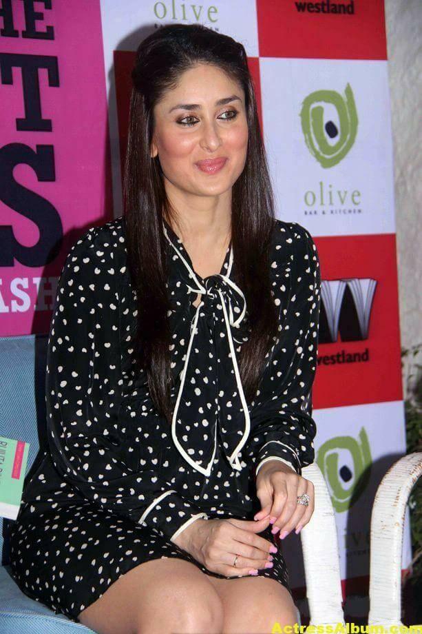 Kareena Kapoor Cute PhotoShoot In Black Dress 5