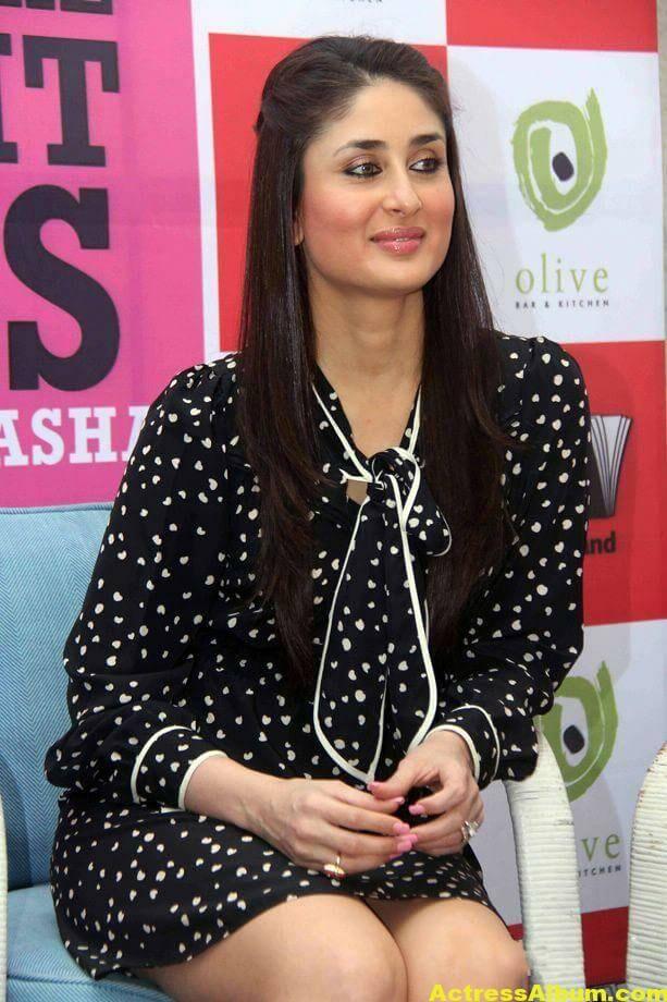 Kareena Kapoor Cute PhotoShoot In Black Dress 6