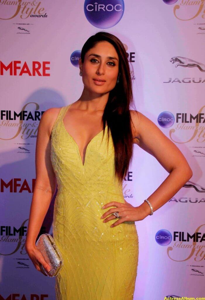 Kareena Kapoor Latest Hot Photos In Yellow Dress 2