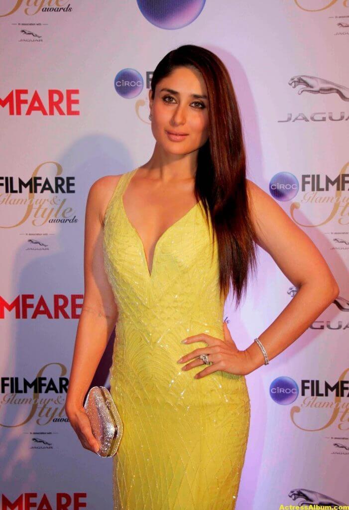 Kareena Kapoor Latest Hot Photos In Yellow Dress 3