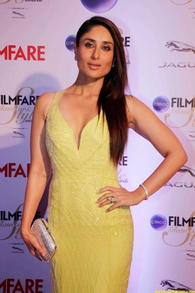 Kareena Kapoor Latest Hot Photos In Yellow Dress 4