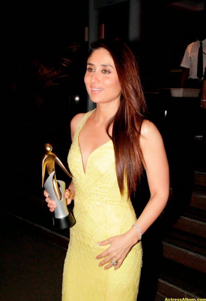 Kareena Kapoor Latest Hot Photos In Yellow Dress 5