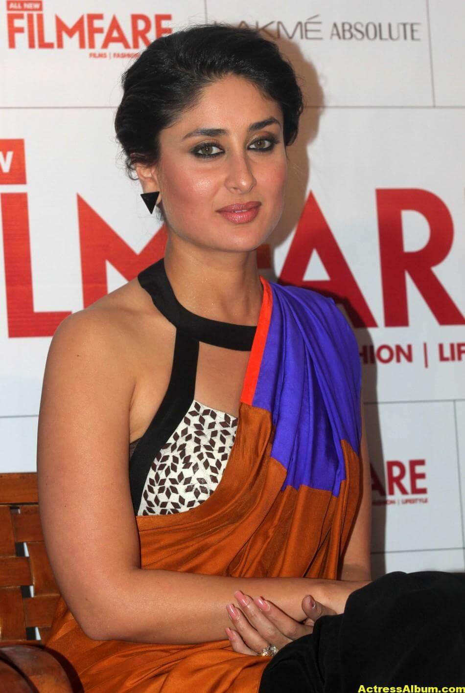Kareena Kapoor Latest Hot Photos in Yellow Saree