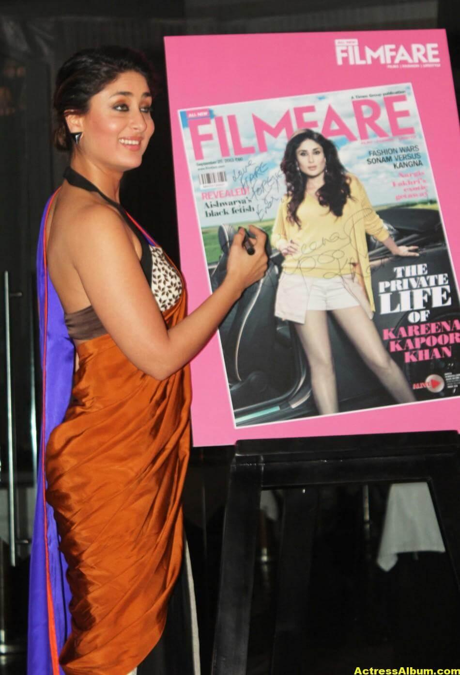 Kareena Kapoor Latest Hot Photos in Yellow Saree 3
