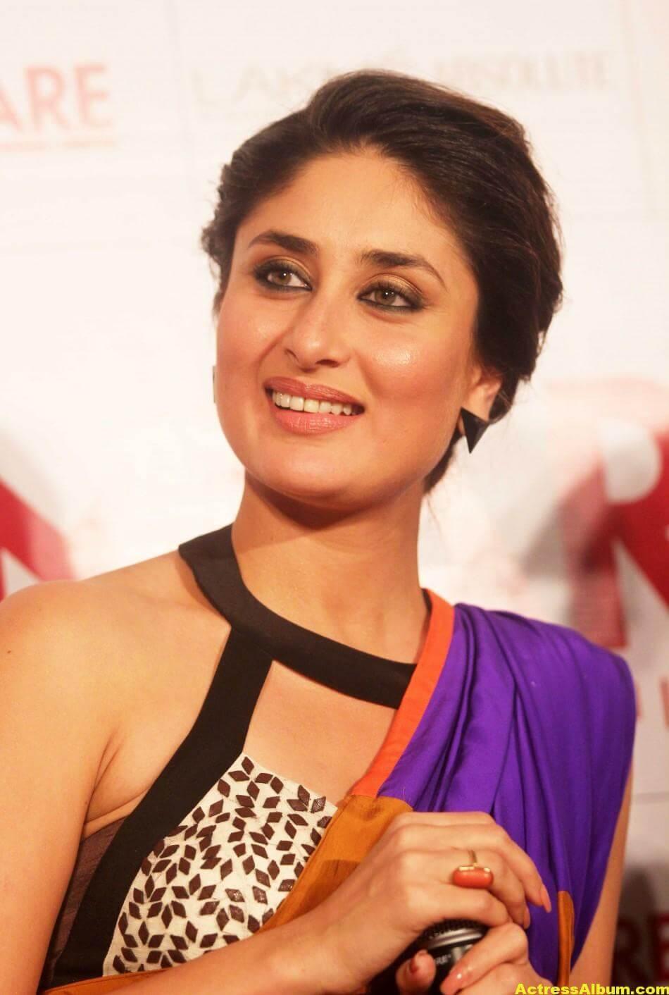 Kareena Kapoor Latest Hot Photos in Yellow Saree 4