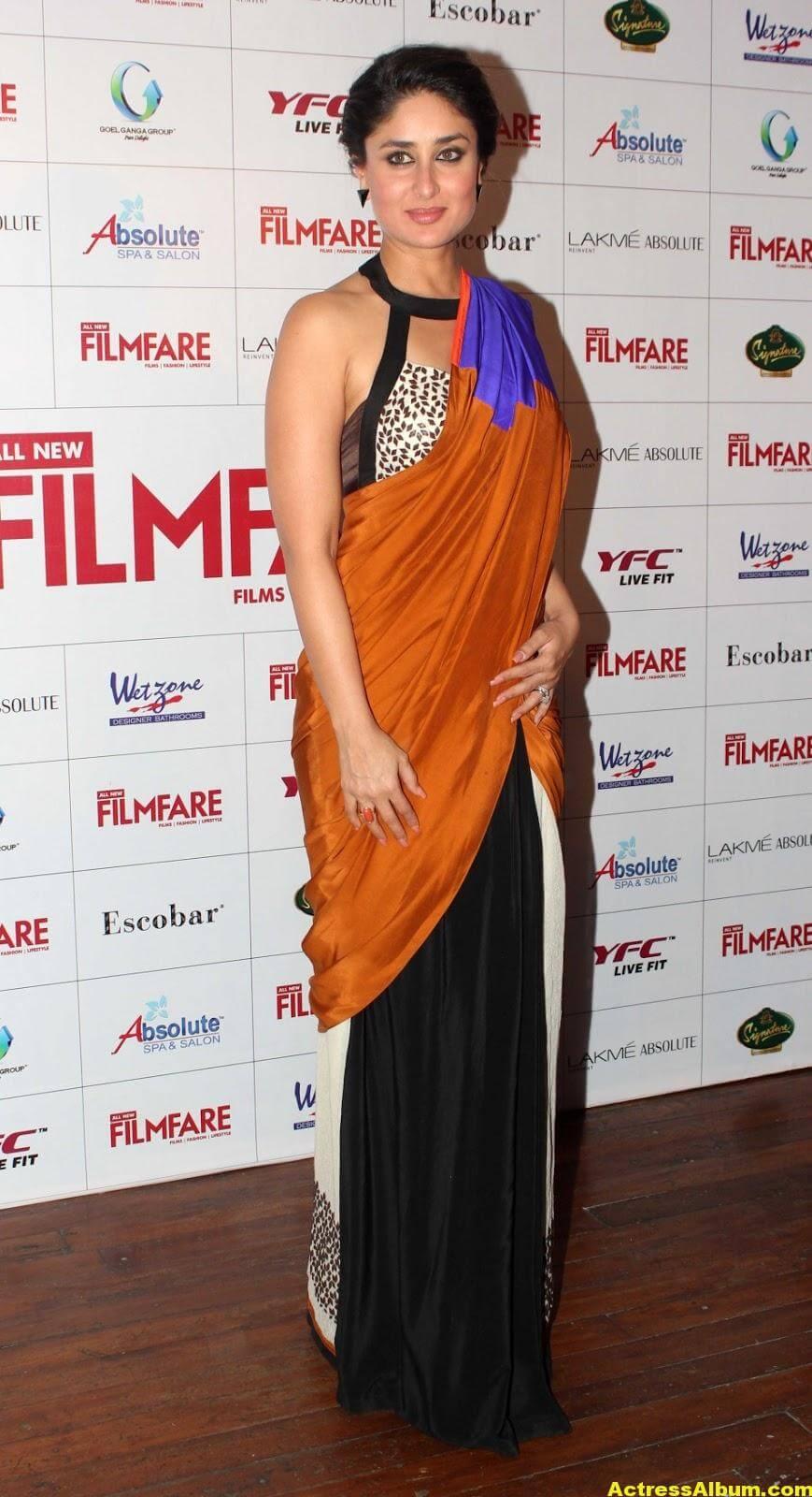 Kareena Kapoor Latest Hot Photos in Yellow Saree 5